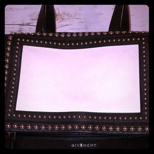 Givenchy Studded Pandora Pure Crossbody Leather